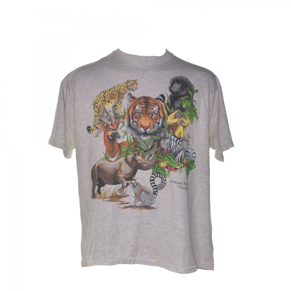 1990's Lincoln Park Zoo animals (XL)